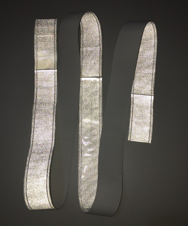 2 Meters Long Reflective PVC Tape For Cothing Flashing Tiny Star Night Reflective Warning Strip