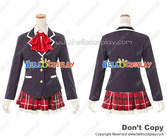 Japanese Anime Outfit Love Chunibyo Other Delusions Chuunibyou Demo Koi Ga Shitai Cosplay Rikka Takanashi Unifrom Costume H008