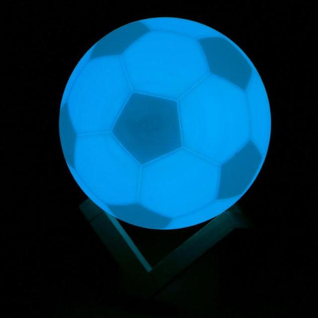 79Usb Soccer Football Rechargeable Light Us17 7 Colors 3d Printing From Lamp Lights Moon Led Night In Visual PTkiOZuX