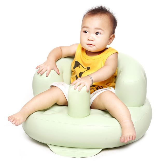 Confortável portátil Do Bebê Assento Inflável Sofá Cadeira Cadeira de Banho Cadeira de Multi-Funcional das Crianças Da Escola