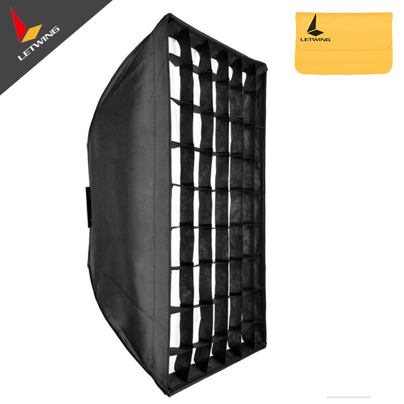 "60x90cm 24""x35"" Godox Honeycomb Grid Softbox soft box with Bowens Mount for Studio Strobe Flash Light Photography Lighting"