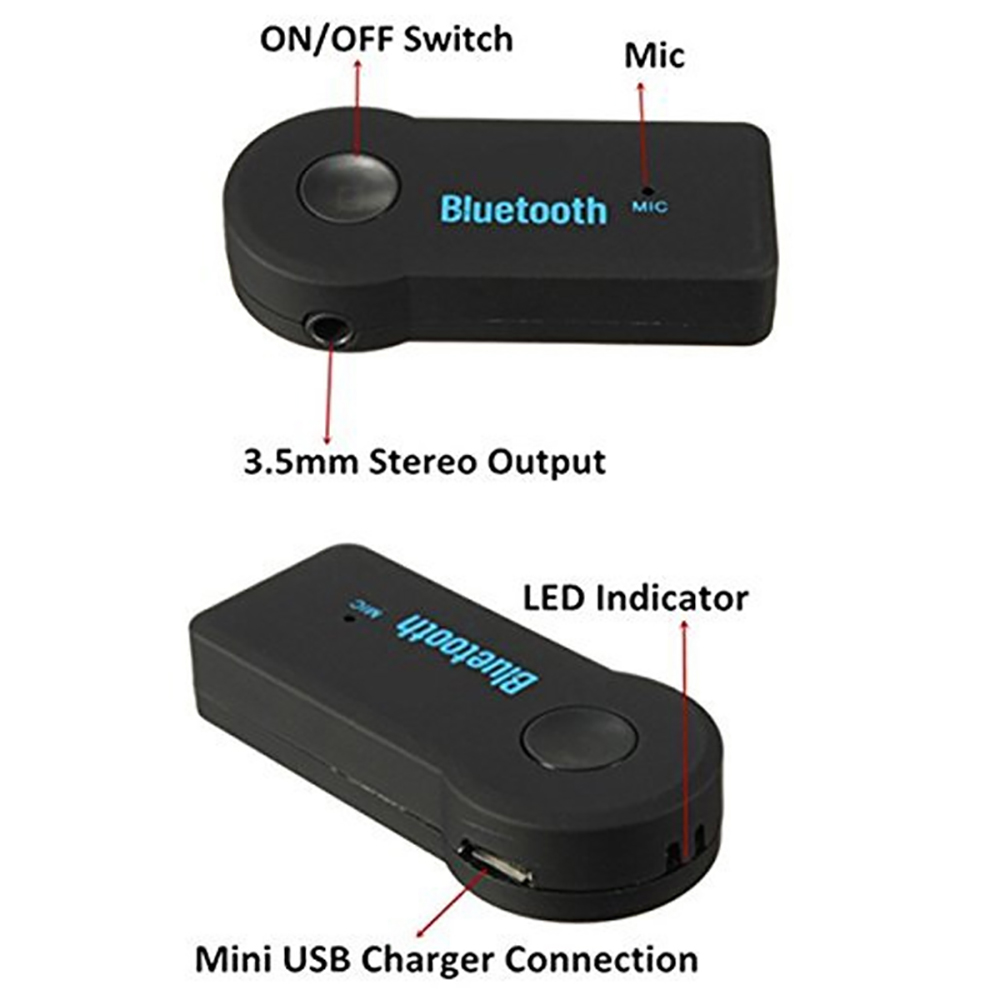 Manos libres Automóvil Bluetooth para automóvil Kit Bluetooth - Electrónica del Automóvil - foto 5