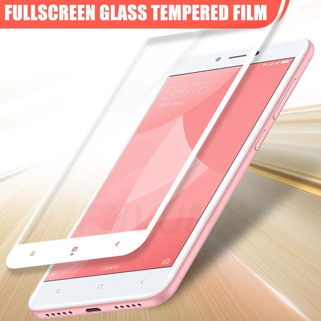 Redmi Note 4 4X 5A 5 Pro de vidrio templado Protección de vidrio en la para Xiaomi Redmi 4A 4X 5A 5 Plus S2 Redmi Note 4 4X 5A 5 Pro de vidrio templado funda con film protector de pantalla