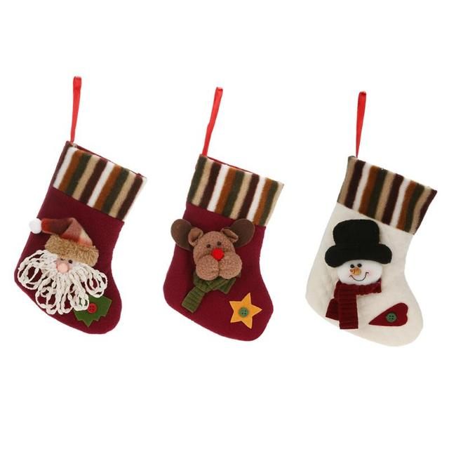 christmas tree ornaments stockings hand making crafts children candy