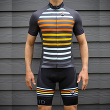 цена на Bycicle cyclng jersey set 2018 Pro team summer bycicle mtb road bike short sleeve bib pants kits men roupa maillot ciclismo sets