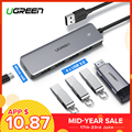 Ugreen USB 3.0 HUB Multi USB Splitter 3 USB3.0 Port with Micro Charge for MacBook Surface Pro 6 PC Computer Accessories USB HUB