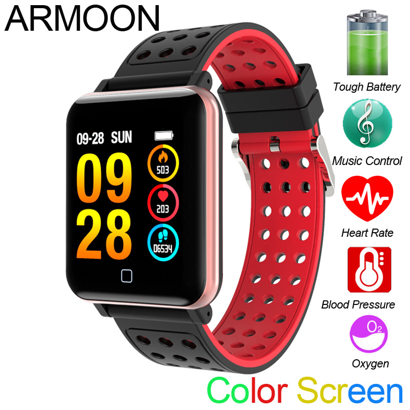 Smart Watch M19 Heart Rate Bracelet Sleep Monitor Fitness Tracker