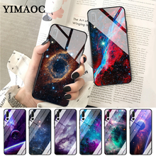 купить YIMAOC Night Dream Glass Case for Huawei P10 lite P20 Pro P30 P Smart honor 7A 8X 9 10 Y6 Mate 20 дешево