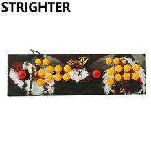 Double arcade joystick pc computer game Joystick Consoles usb Stationary Consoles