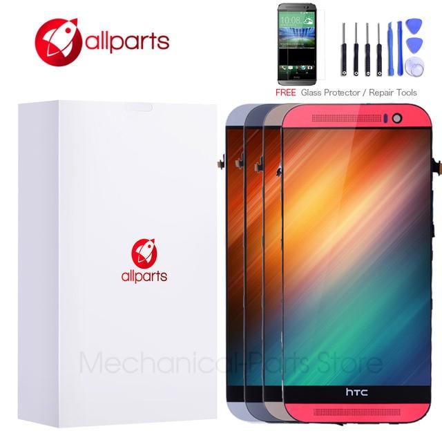 5,0 дюймов Дисплей для htc один M8 ЖК-дисплей Сенсорный экран htc один M8 Дисплей ЖК-дисплей Digitizer Рамка в сборе с заменой 831c
