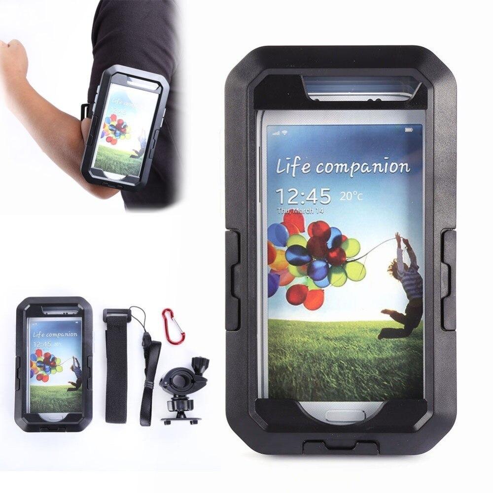 imágenes para Bicicleta Ciclo de Liberación Rápida de Montaje Caja Del Teléfono Funda Impermeable para Samsung Galaxy S6 LY2