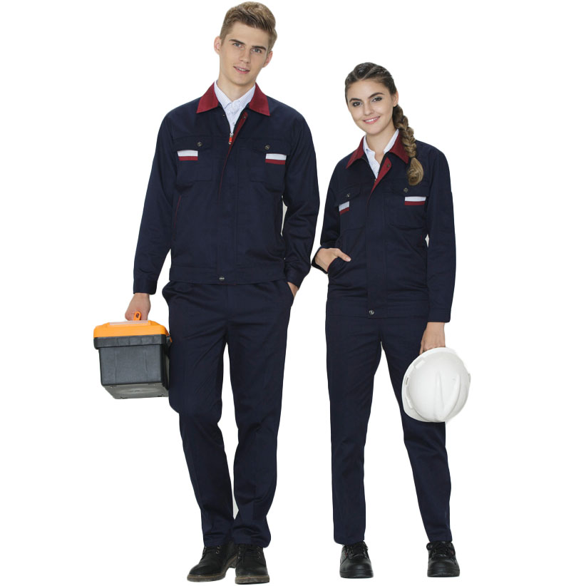 S-5xl!customized Spring And Autumn Long Sleeve Overalls Set For Men And Women Auto Repair Wear-resistant Workers Factory Worksh Men's Clothing