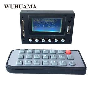 Image 5 - DC12V Blu Display A LED Modulo Bluetooth Lettore MP3 WAV WMA FM USB SD Scheda di Decodifica Audio Con Registrazione