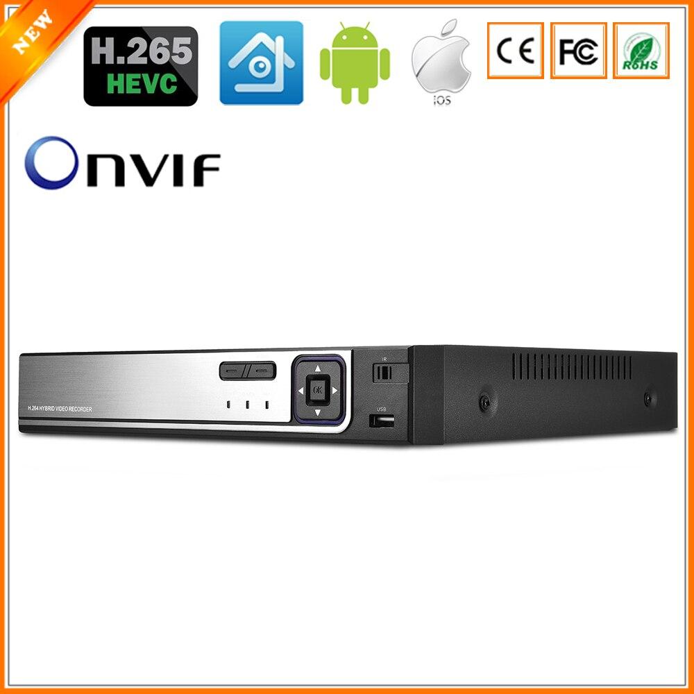 BESDER H 265 CCTV PoE NVR Max 4K 4CH 5MP 8CH 4MP IEE802 3af 48V PoE