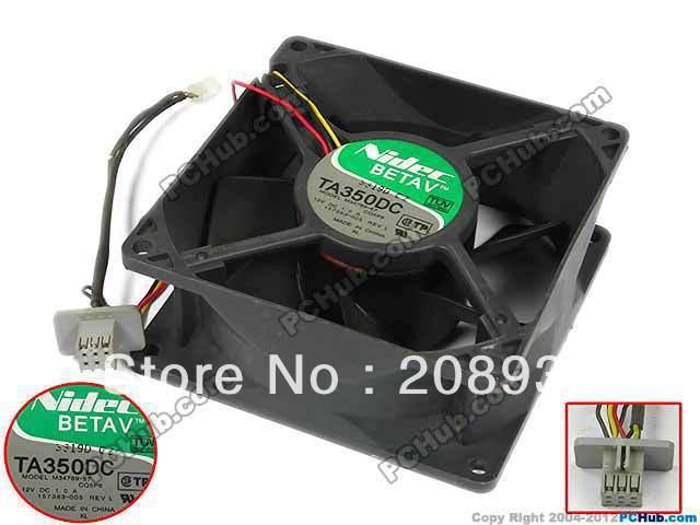 Portable Cooling Fan for NIDEC TA350DC M34789-57 CQ4 9238 12v 1A 9cm Cooling Fan