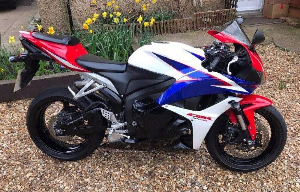 Moto carénage pour Honda CBR600RR CBR 600 RR 2009 2010 2011 2012 moulage Par Injection Plastique ABS Carrosserie Carénages Kit CBR600