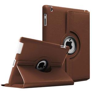 Чехол из искусственной кожи для iPad 2, 3, 4, чехол с поворотом на 360 градусов для Apple iPad 2, 3, 4, смарт-планшет с подставкой, чехлы A1397, A1416, A1430