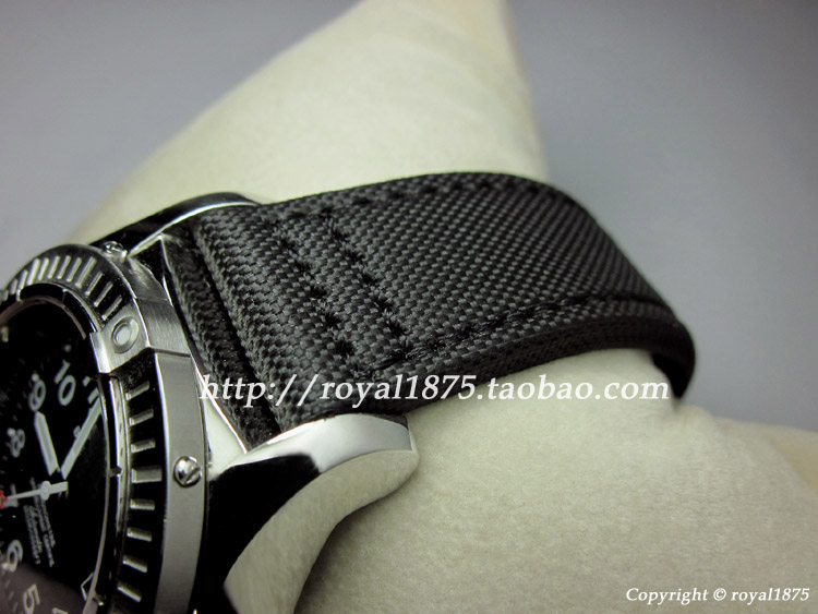 Upscale 20 22mm Composite fiber+Genuine Leather Strap Watch Band Charm Black Men Women Watch Strap for Omega Seiko fossil Mido men s genuine leather watch strap for tissot mido waterproof calfskin leather watch band for fits all brand women bracelet belt page 1