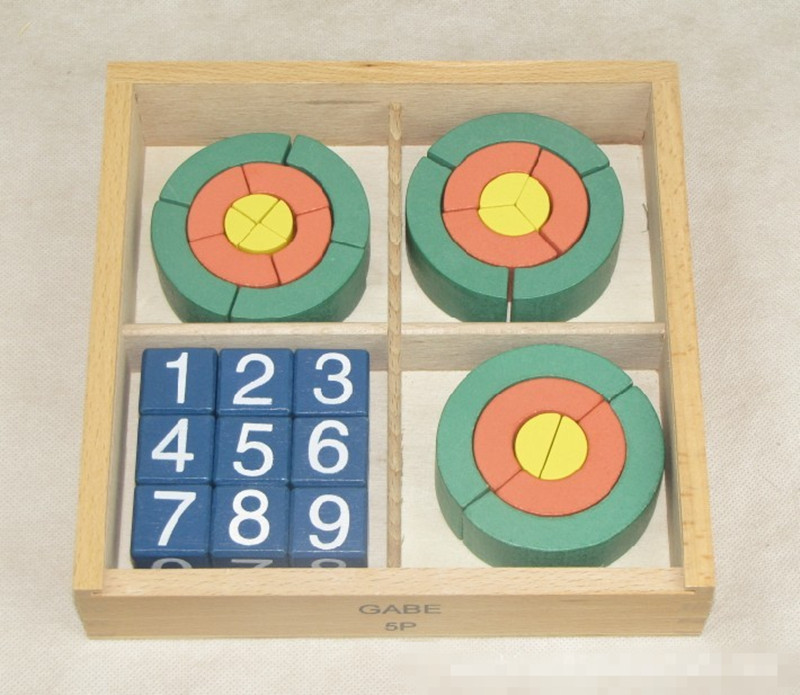 New Wooden Baby Toys Froebel Teaching Aids Educational Gifts