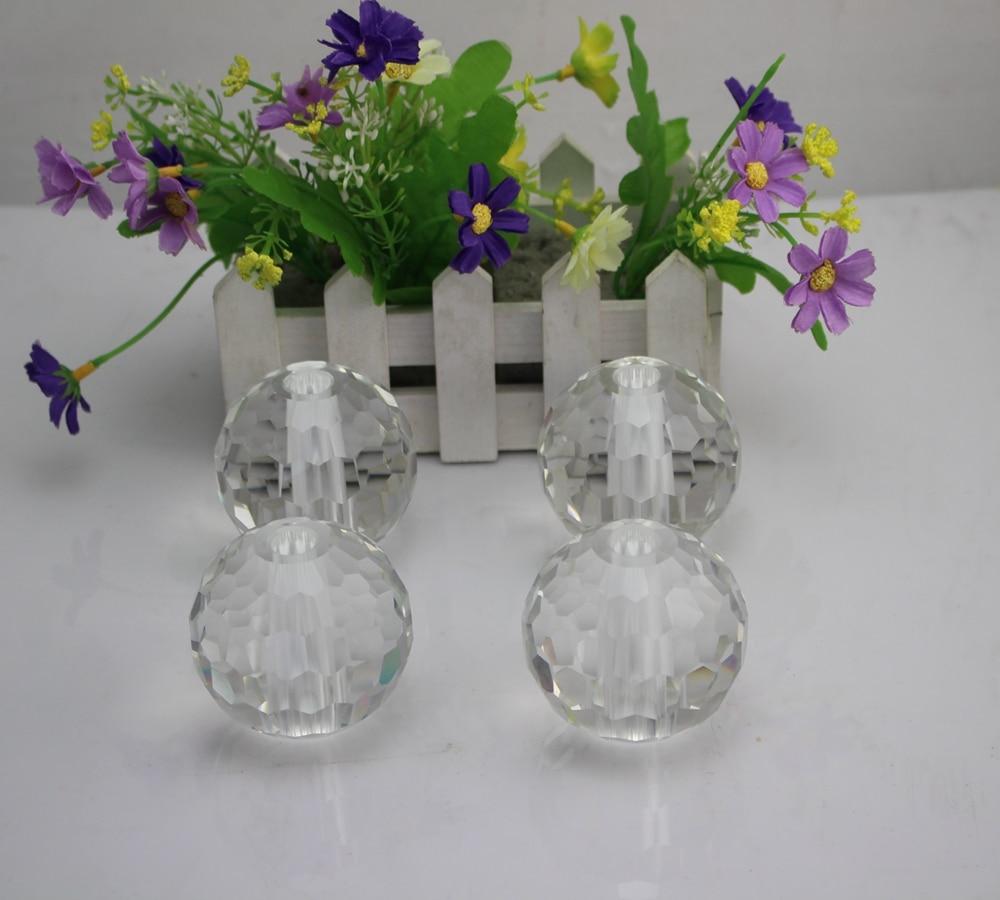 Fábrica directamente venta excelente calidad K9 AAA cristal material 60mm 2  unids lote facted cristal esfera de la bola con 1 cm agujero dd1ce06c476