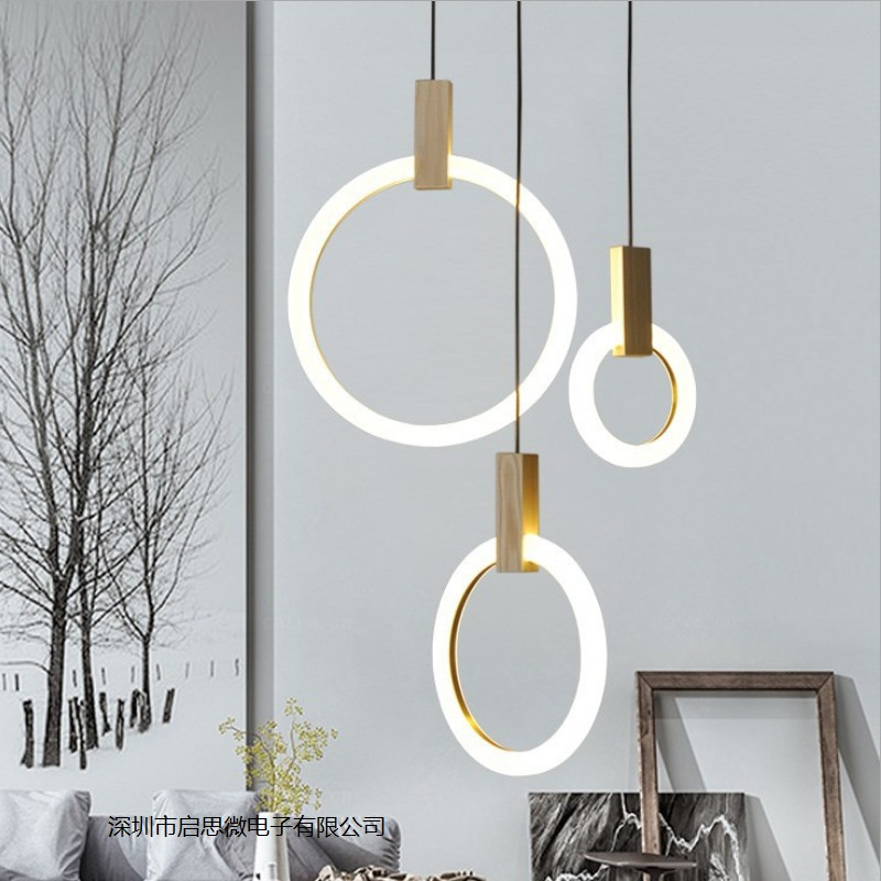 Symbol Of The Brand Modern Led Chandelier Nordic Hanging Lights Kitchen Illumination Bedroom Lighting Fixtures Novelty Glass Suspended Lamps Lights & Lighting