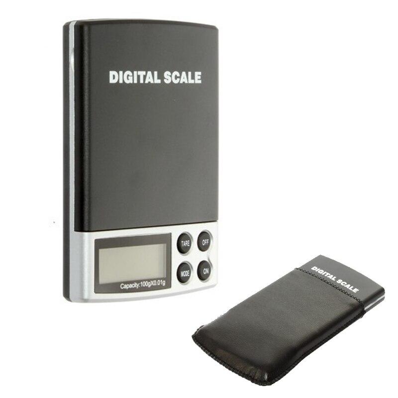 5 pcs/lot 0.01g 100g gramme Balance de poids électronique numérique Balance de poche