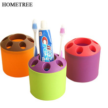 HOMETREE 2017 Hot Sale Special Porous Couple Reative Colorful Toothbrush Holder Toothpaste Mouthwash Multi-Function Desktop H175