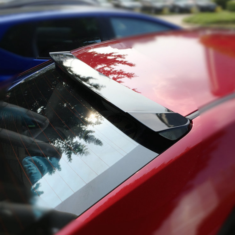 Car Styling ABS Plastic Unpainted Color Rear Trunk Wing Boot Lip Roof Spoiler For Toyota Corolla 2014 2015 2016 2017 2018