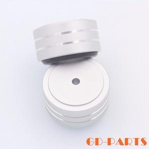 Image 2 - 4 Stuks 40*20 Mm Gefreesd Volledige Aluminium Versterker Voeten Pc Chassis Speaker Kabinet Isolatie Stand Base Amp Dac draaitafel Pad Kegel