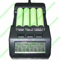Intelligent Digital Battery Charger battery Tester meter NiCd NiMh Multifunctional for AAA 16340 RCR123 14500 AA