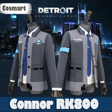 Game Detroit Become Human Connor RK800 cosplay Costume Incarnated As Uniform full set