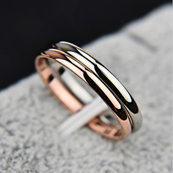 Retro Stainless Steel Rings For Women Men Titanium Ring Korean Style Dating Couple Rings Jewellry Simple Fashion Jewelry R830 1