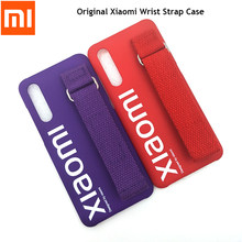 Original Xiaomi Mi 9/9 SE Wrist Strap Hard PC Case Kickstand Plastic Bracelet Phone Cover Street Style Back Skin For Mi 9/9 SE(China)