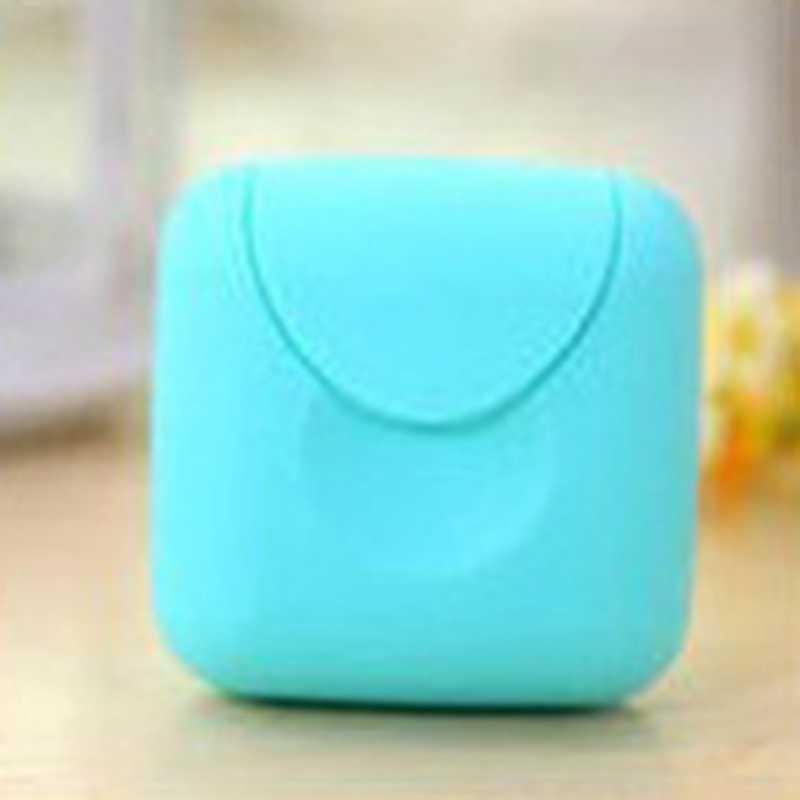 1 Pc Warna Acak Baru Datang Perjalanan Outdoor Portable Wanita Tampon Penyimpanan Kotak Pemegang Tool Set 2019 Perjalanan Membawa Case