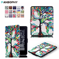 For Kindle Paperwhite 1 2 3 Case Stand Leather Cover for All Kindle Paperwhite 2013 2015 2016 Ereader Case with Auto Wake/Sleep
