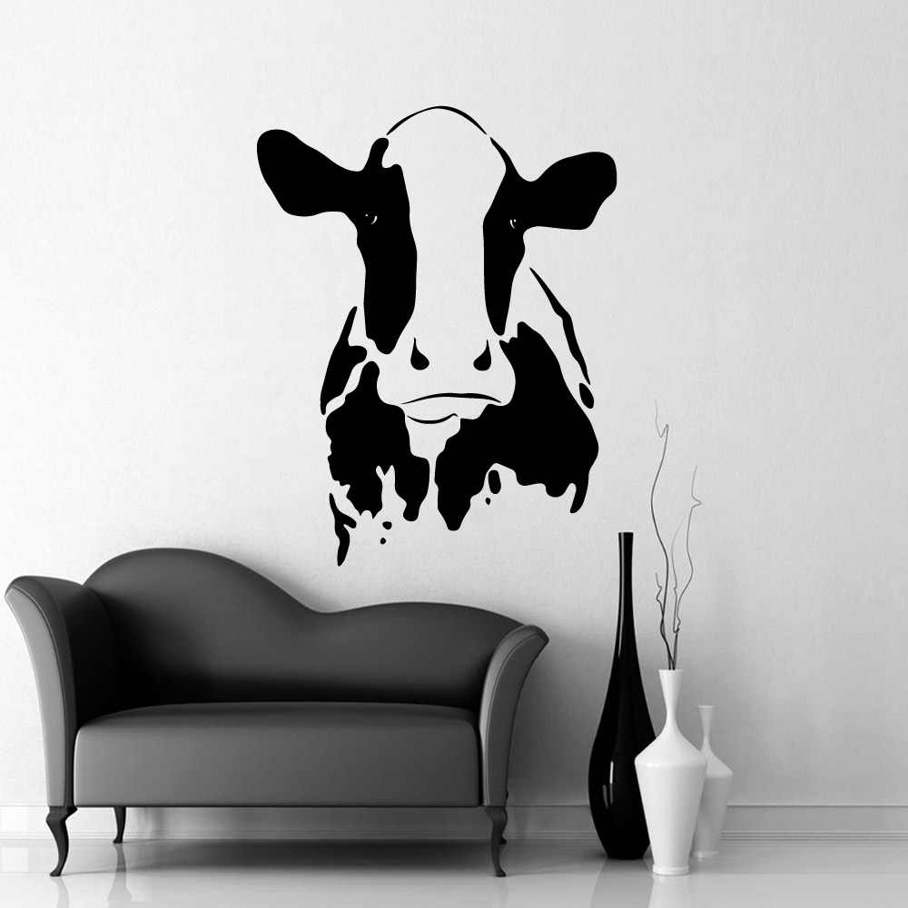 Creative Stickers Cow Decor Wall Decal