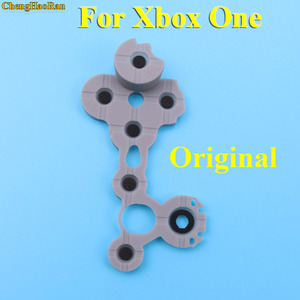 Image 5 - ChengHaoRan de caucho de silicona conductiva Botón de goma para Xbox uno Slim S controlador D Pad