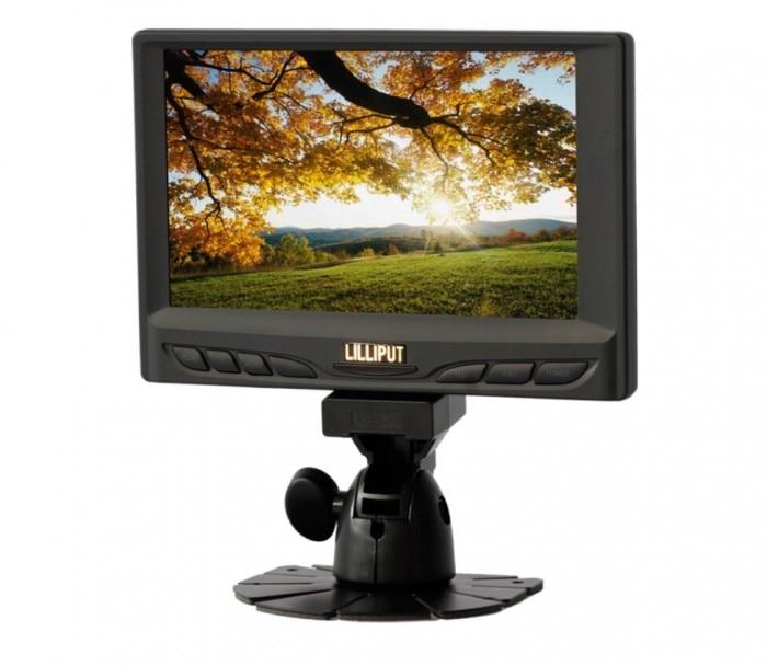 LILLIPUT 629GL 70NP C T 7 Inch Touchscreen VGA Monitor 1 Audio 2 video Input 800x480