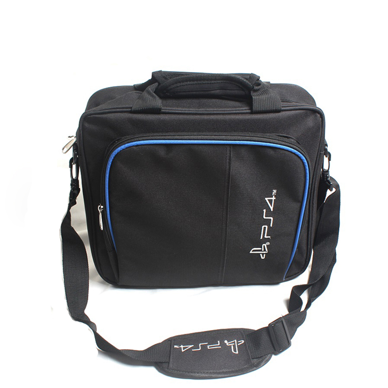 Sanchow Multi-Function PS4 Game System Bag Travel Storage Carry Case Shoulder Bag for PS4 Console Controller