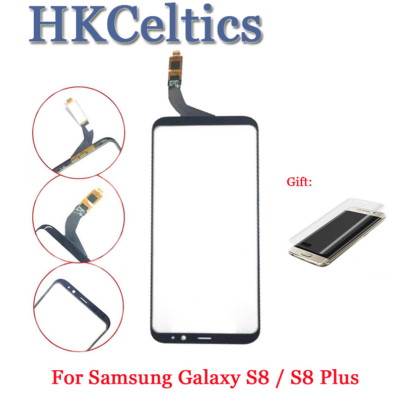 For <font><b>SAMSUNG</b></font> <font><b>Galaxy</b></font> <font><b>S8</b></font> Plus Front Outer <font><b>Glass</b></font> Lens Touch Screen Panel Cover For 5.8'' <font><b>SAMSUNG</b></font> <font><b>S8</b></font> Front Screen Lens <font><b>Replacement</b></font> image