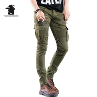 Brand New Men S Jeans Fashion Designer Star Style Thin Fold Stretch Jeans Men Green Black