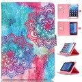Soporte Flip Lindo Niños Universal Inteligente PU Del Soporte Del Cuero Cubierta de la Caja para 10 pulgadas Android Tablet Cases Para Samsung Para iPad Prestigio