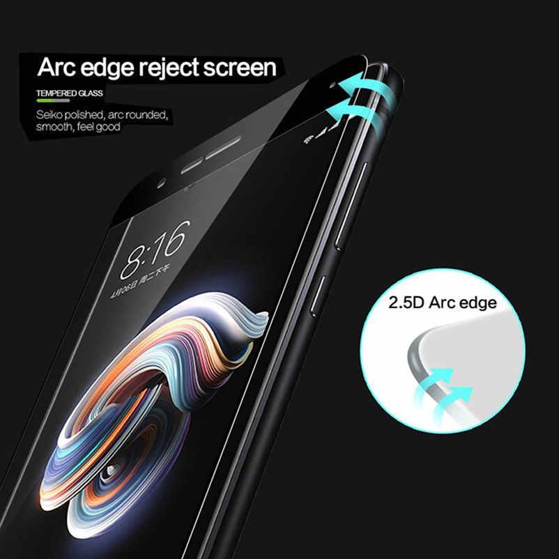 TOP 9H Volle Abdeckung Gehärtetem Glas Für Xiaomi Redmi 5A 4A Redmi 4X Redmi Hinweis 4 Redmi 5 plus screen Protector Gehärtetem Film Fall