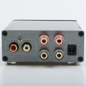 Image 2 - Breeze amplificador de áudio, classe d, hifi, amplificador de potência digital, pro tpa3116, avançado 2*100w, mini casa, alumínio enclosure amp