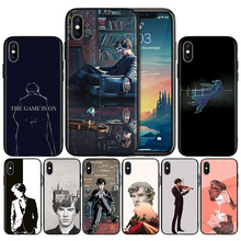 Sherlock Holmes TV Show Soft Black Silicone Case Cover for iPhone 7 8 XS Max XR X 6 6S 5 5C 5S SE Plus Back Protective стоимость
