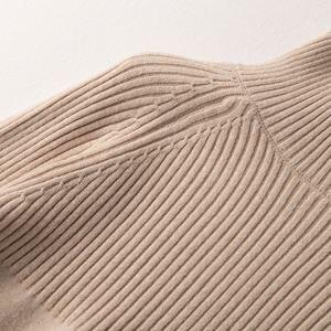 Image 4 - Suéter de cuello alto de alta calidad para mujer, Jersey de invierno, suéter de Cachemira, suéter de punto sólido, moda de otoño