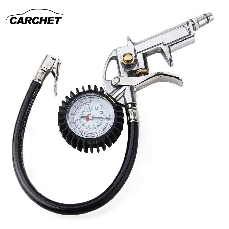 CARCHET EU Digital Auto Lkw Luftdruck Inflator Gauge Fahrzeug Manometer Reifendruck Tester Reifenreparatur Werkzeuge