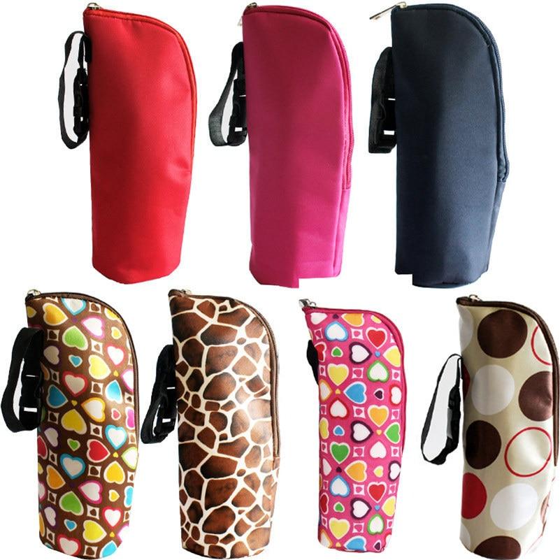 Scolour New Baby Thermal Feeding Bottle Warmers Mummy Tote Bag Hang Stroller Pouch Winter Holder Hanging cooler bottle bag Bolsa