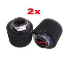 150cc Performance 42mm AIR FILTER SCOOTER chinese GY6 4 stroke foam moped engine 2PCS