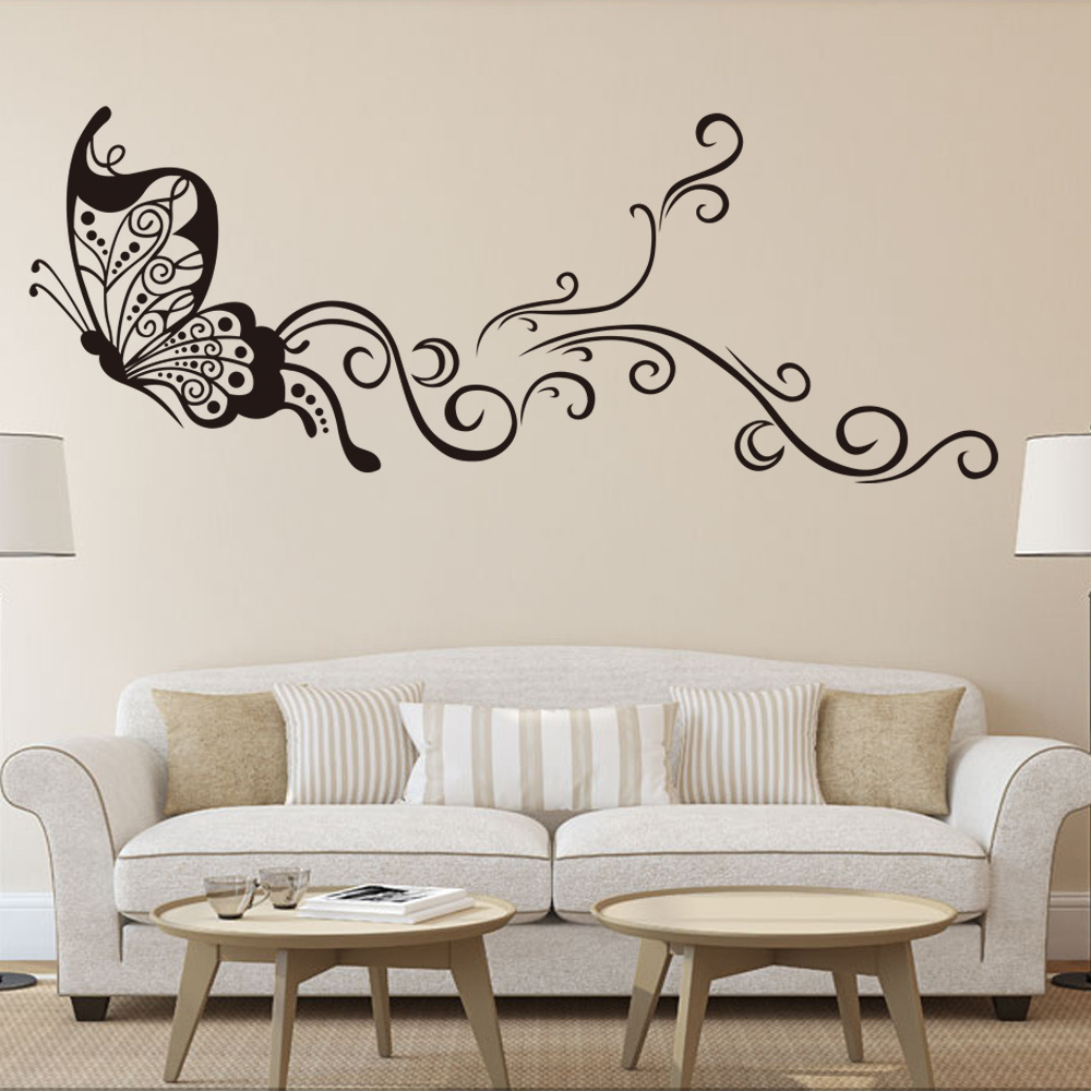 Creative Vinilos Decorativos Pared Butterflies Wall Stickers Home